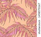Nature Seamless Pattern. Hand...