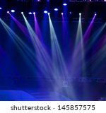 vector stage spotlight with... | Shutterstock . vector #145857575