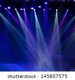 vector stage spotlight with... | Shutterstock . vector #145857575