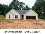 New Home Being Constructed At...