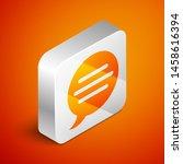 isometric speech bubble chat...   Shutterstock .eps vector #1458616394