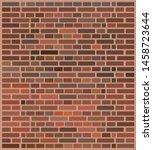brick wallpaper vector vintage... | Shutterstock .eps vector #1458723644