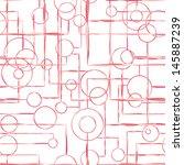 vector illustration of seamless ... | Shutterstock .eps vector #145887239