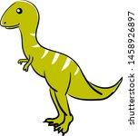 Cute Allosaurus  Illustration ...
