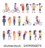 bundle of commnuity people... | Shutterstock .eps vector #1459006874