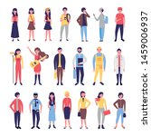 group of community people...   Shutterstock .eps vector #1459006937