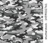 camouflage seamless gray... | Shutterstock .eps vector #1459032761