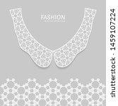 vector fashion background.... | Shutterstock .eps vector #1459107224