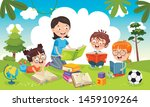 vector illustration of children ... | Shutterstock .eps vector #1459109264