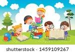 vector illustration of children ...   Shutterstock .eps vector #1459109267
