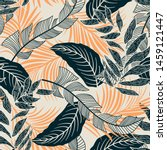 trend seamless pattern with... | Shutterstock .eps vector #1459121447