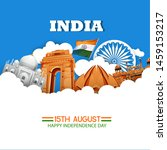 Illustration Of 15th August...