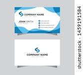 modern creative business card... | Shutterstock .eps vector #1459191584