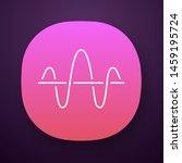 soundwave app icon. ui ux user...