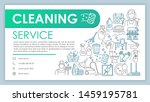 cleaning service web banner ...