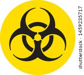 the biohazard sign logo circular | Shutterstock .eps vector #1459235717