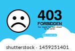 the concept of 403 forbidden...
