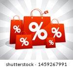 discounts sale vector poster... | Shutterstock .eps vector #1459267991