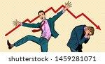 two businessmen. different...   Shutterstock .eps vector #1459281071
