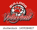 Bulldog Volleyball Team Design...