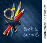 back,back to school,background,banner,blue,brush,chalk,concept,denim,design,drawing,education,element,frame,handwriting