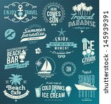 vector set of travel and... | Shutterstock .eps vector #145939391