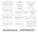 antique elegant frames and ... | Shutterstock .eps vector #1459404257