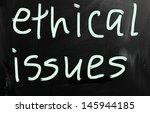 ethics | Shutterstock . vector #145944185