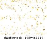 gold glitter realistic confetti ...   Shutterstock .eps vector #1459468814