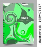 covers template with abstract...   Shutterstock .eps vector #1459475687