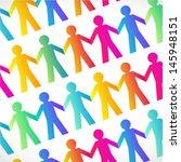 teamwork charity people  ... | Shutterstock .eps vector #145948151