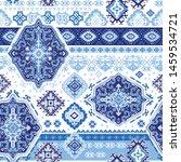 indian rug tribal ornament... | Shutterstock .eps vector #1459534721