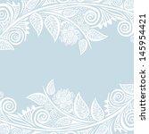invitation card wedding vector... | Shutterstock .eps vector #145954421