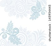 invitation card wedding vector... | Shutterstock .eps vector #145954445