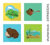 isolated object of wildlife and ...   Shutterstock .eps vector #1459603241