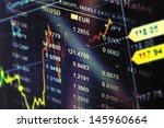 world economics graph. finance... | Shutterstock . vector #145960664