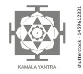 vector icon with kamala yantra...   Shutterstock .eps vector #1459612331