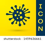 blue bacteria icon isolated on... | Shutterstock .eps vector #1459636661