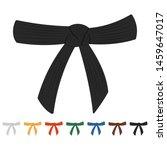 karate belts vector cartoon set ...   Shutterstock .eps vector #1459647017
