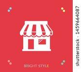 a shop icon. a sign of a shop... | Shutterstock .eps vector #1459664087