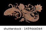 decorative elegant luxury... | Shutterstock . vector #1459666064