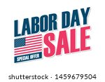 usa labor day sale special... | Shutterstock .eps vector #1459679504