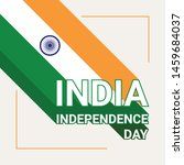 india independence day greeting ... | Shutterstock .eps vector #1459684037