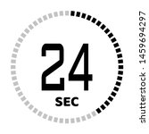the 24 second countdown timer...