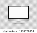 realistic personal computer... | Shutterstock .eps vector #1459750154