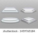winner podium. 3d podium ... | Shutterstock .eps vector #1459765184