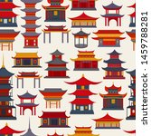 Seamless Pattern Of Chinese...