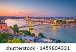 Budapest  Hungary. Aerial...