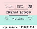 vintage minimal label. set of... | Shutterstock .eps vector #1459821224