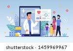social media template  mobile... | Shutterstock .eps vector #1459969967